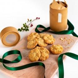 Lemon +Almond Snowflake Biscuits