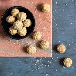 Cashew + Coconut Truffles - vegan + gluten free