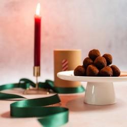 Spiced Hazelnut Truffles