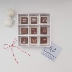Christmas Themed Chocolate Box