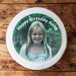 Personalised Birthday Photo Cake Topper
