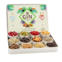 12 Gin Botanicals Gin Gift Set to Infuse and Enhance Gin