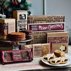 Christmas Baked Treats Hamper Box