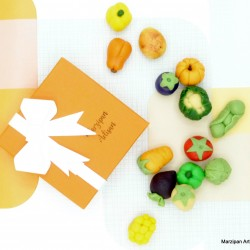 Handmade Marzipan Vegetable Gift Box
