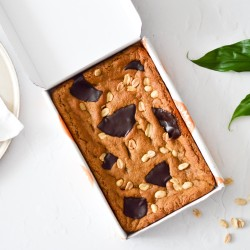 Peanut Butter Cookie Tray | Vegan and Refined Sugar Free (Serves 8)
