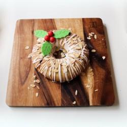Festive Wreath Christmas Centrepiece Baking Kit