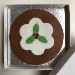 Christmas Pud Letterbox Cake