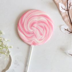 Candy Floss Giant Lollipop