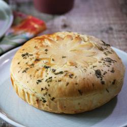 Triple Cheese Gourmet Pie (Vegetarian)