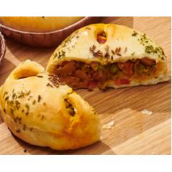 Moroccan Veggie Gourmet Pie (Vegetarian)