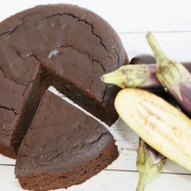 Chocolate Torte with Aubergine