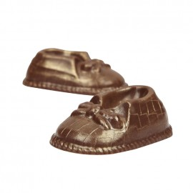 Baby Charlie Handmade Milk Chocolate Shoes
