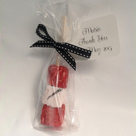 Champagne and Strawberries Marshmallow Favours