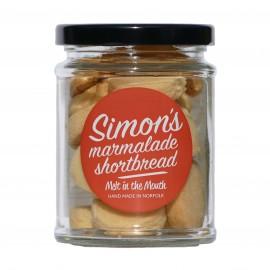 Simon's Marmalade Shortbread - melt in the mouth