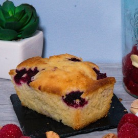 Vegan Bakewell cake. Gluten and sugar free.