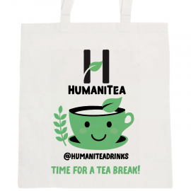 HumaniTea Tote Bag – Green