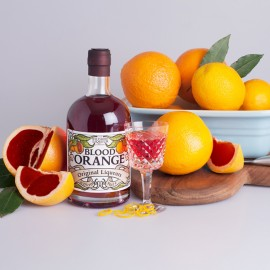 Blood Orange Liqueur (Personalised Label Available)