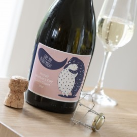 Personalised Love You Beary Much Prosecco