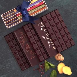 Botanical Handmade Dark Chocolate Selection Box