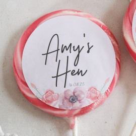 Personalised 'Hen Party' Giant Lollipops