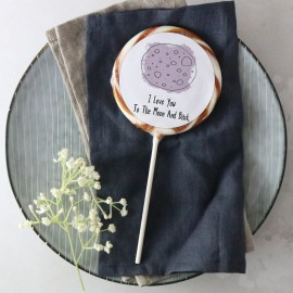 'I Love You To The Moon and Back' Giant Lollipop
