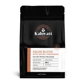 Freshly Roasted   Sham Blend- Extra Cardamom   Turkish Coffee