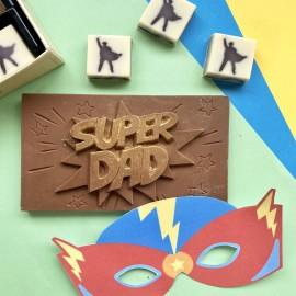 Chocolate Super Dad Box