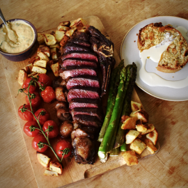 Galician Steak Night Meal Kit For Four
