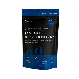 Front Of Pack - Blueberry & Cinnamon Keto Porridge - The Brave Ape Co.