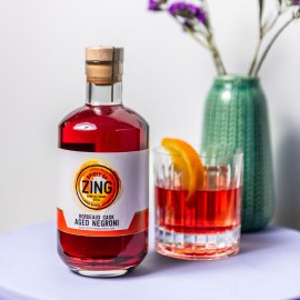 Bordeaux Aged Negroni Gin Cocktail
