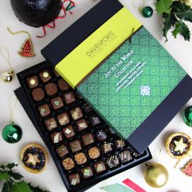 'Joy To The World' Gift Box of Christmas Chocolates, 48 pieces