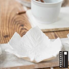 Porcelain Vine Leaf Plate