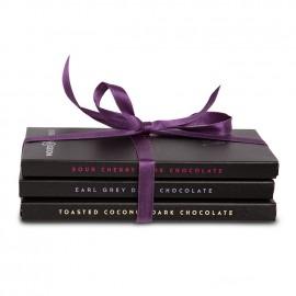 Dark Chocolate Lovers Selection (3 Bars)