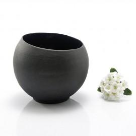 Small Black Ceramic Cup