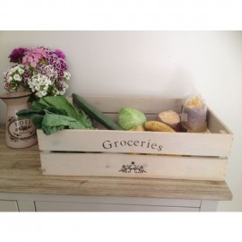 Groceries Apple Crate