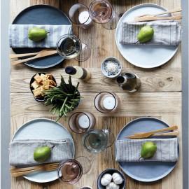 Handpainted Stoneware Dinner Plate