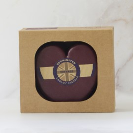 400g Heart-Shaped Vintage Organic Cheddar in a Gift Box