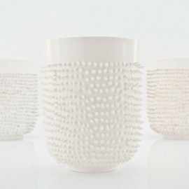 Porcelain Spiky Mug