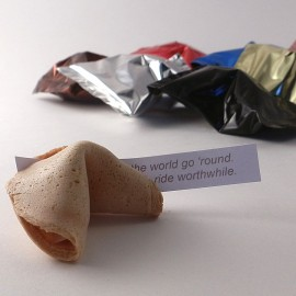 Sample pack of fortune cookies