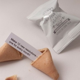 150 Personalised New Year Fortune Cookies