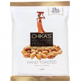 CHIKA'S Hand-toasted Peanuts no skins