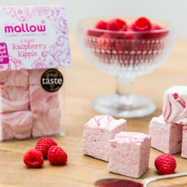 A Right Raspberry Ripple marshmallows