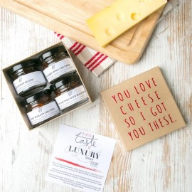 Cheese Lover's Chutneys Gift Set
