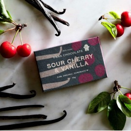 Raw Sour Cherry and Vanilla Chocolate Bars (3 pack)