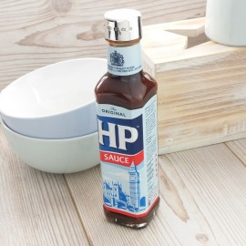 Silver HP Brown Sauce Lid