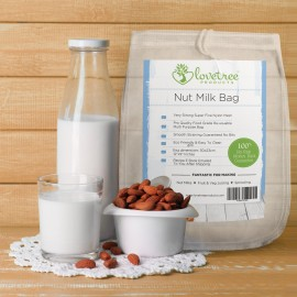 Nut Milk Bag - Best Premium Quality Almond Milk Strainer