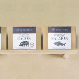 The Homemade Curing Kits Gift Box - Salmon & Spicy Bacon