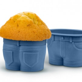 Silicon Muffin Top Cupcake Moulds Set of 4
