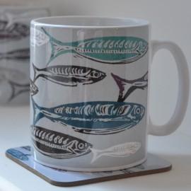 Schools Out Fish Mug