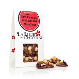 Dark chocolate fruit and nut